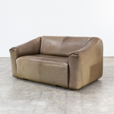 DeSede 'DS47' leather two seat sofa