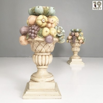 Two hand made Florentine columns, 1970's