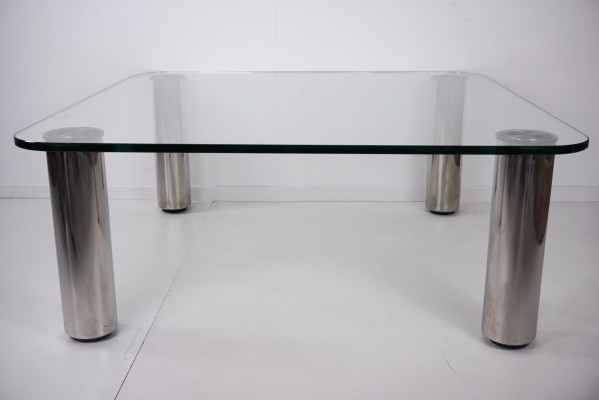 XL 'Marcuso' Coffee Table by Marco Zanuso For Zanotta