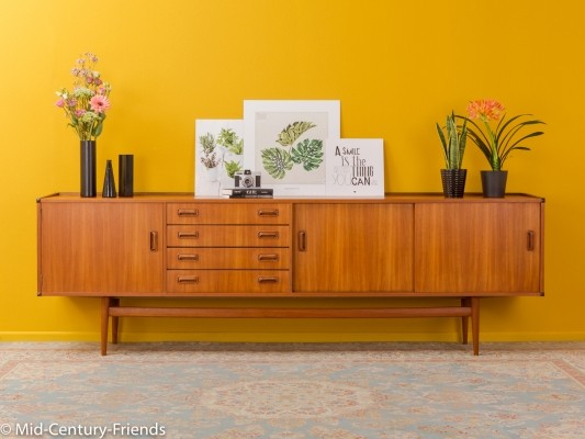 German teak sideboard by Musterring, 1950s