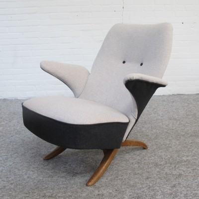 Artifort 'Pinguin' Lounge Chair by Theo Ruth, 1950's