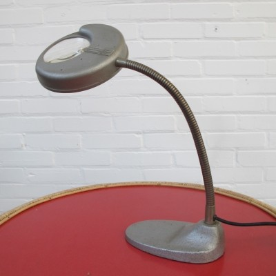 Vintage industrial desk lamp by Scher, 1930s