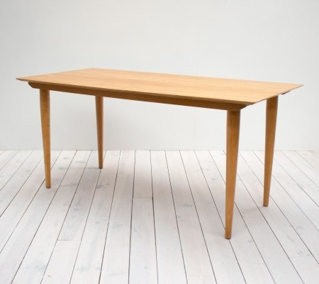 1960s Meredew Beech Plywood Dining Table