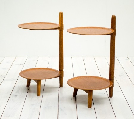 Pair of 1960s Danish Teak Side Tables by Greaves & Thomas