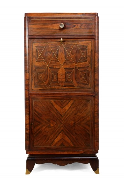 Art Deco Cocktail Cabinet in Rosewood c1920