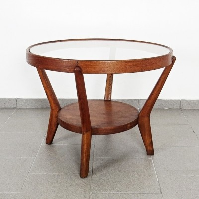 Coffee table by Karel Kozelka & A. Kropacek for Interier Praha, 1940s