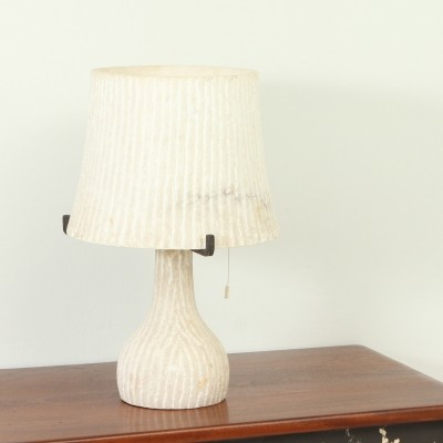 Alabaster Table Lamp from 1950s, Spain