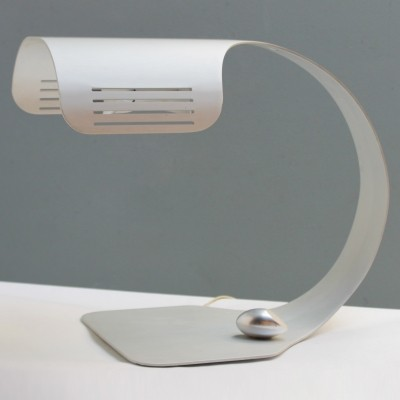 Aluminium 'Colomba' Table lamp with wireless switch by Walter & Moretti