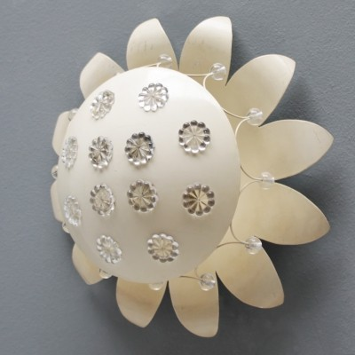 Floral flush mount or wall light by Emil Stejnar for Nikoll, Vienna