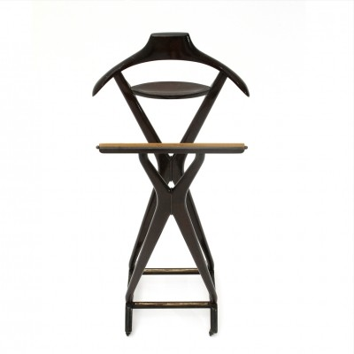 Coat hanger in lacquered wood by Ico Parisi for Reguitti, 1950s