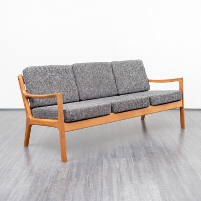 'Senator 166' 3-seater sofa by Ole Wanscher for France & Son, 1960s