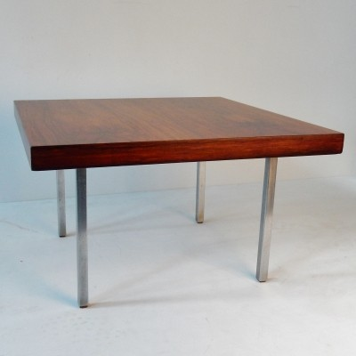 Rosewood veneered model 1844 coffee table by Kho Liang Ie for Artifort