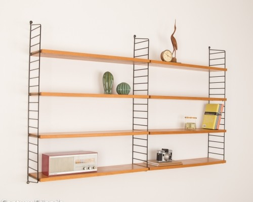 Original String wall unit, 1950s