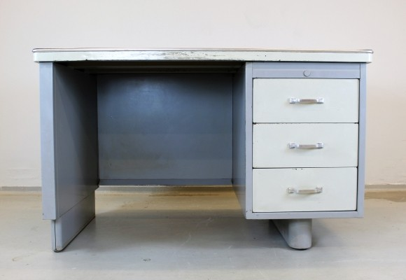 2 x Ahrend Oda writing desk, 1940s