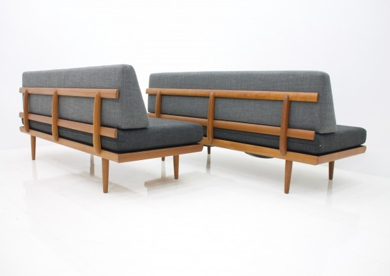 Tove & Edvard Kindt-Larsen Sofa / Daybed by Gustav Bahus, Norway 1960s
