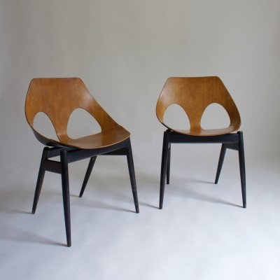Pair Of 1950's Kandya Jason Chairs By Carl Jacobs & Frank Guille