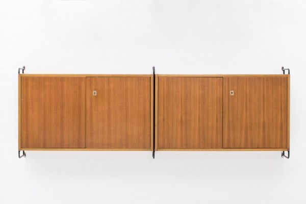 Wall unit by Ernst Hilker for Omnia, Germany 1950
