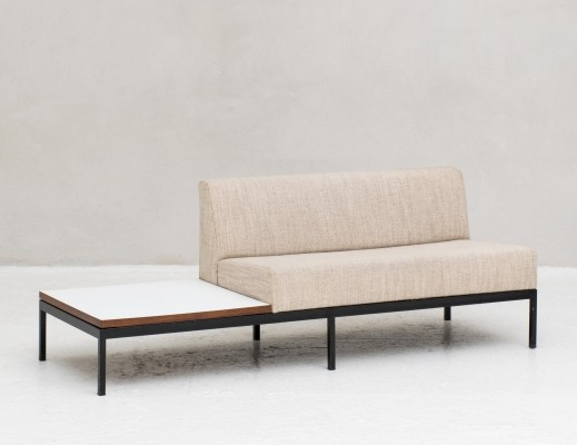 070 series Sofa with side table by Kho Liang le for Artifort, 1960