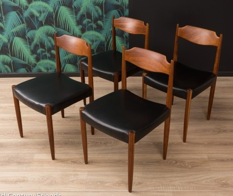 German dining chairs from the 1960s, set of 4