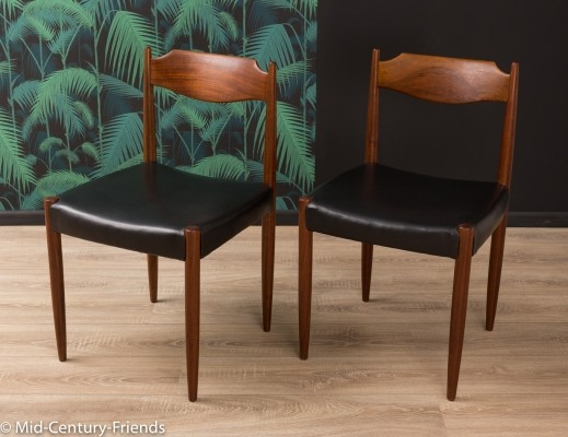 Set of 2 German dining chairs from the 1960s