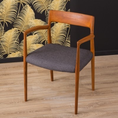 'Model 57' Dining chair by Niels O. Møller, 1950s