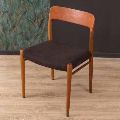 Dining chair model 75 by Niels O. Møller from the 1950s