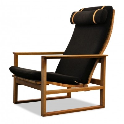 Model 2254 lounge chair by Børge Mogensen for Fredericia, 1960s