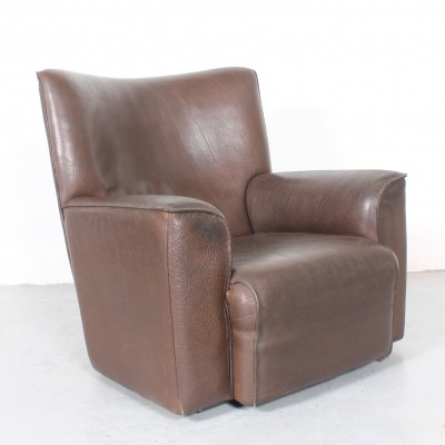 De Sede DS 335 club chair in thick neckleather by Robert Haussmann