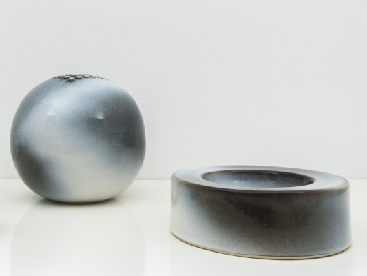 V2 vase & centerpiece by Franco Bucci for Laboratorio Pesaro