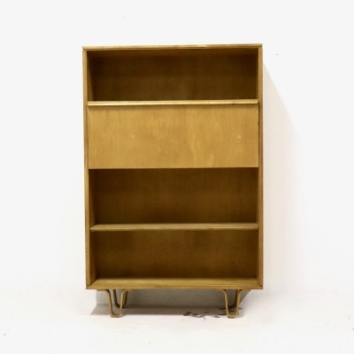 Pastoe BB04 Birch Series Secretary Cabinet by Cees Braakman, 1960s