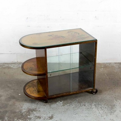 Vintage serving trolley, 1930s