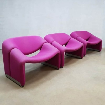 Vintage design F598 Groovy chair by Pierre Paulin for Artifort