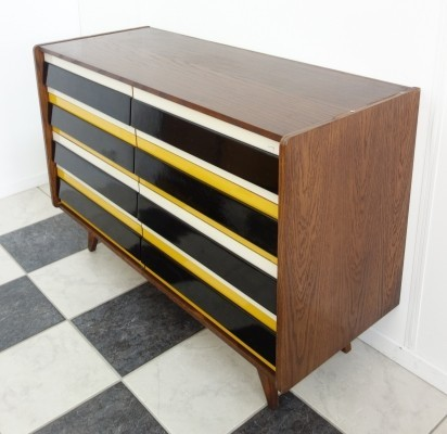 U450 chest of drawers by Jiří Jiroutek for Interier Praha, 1960s