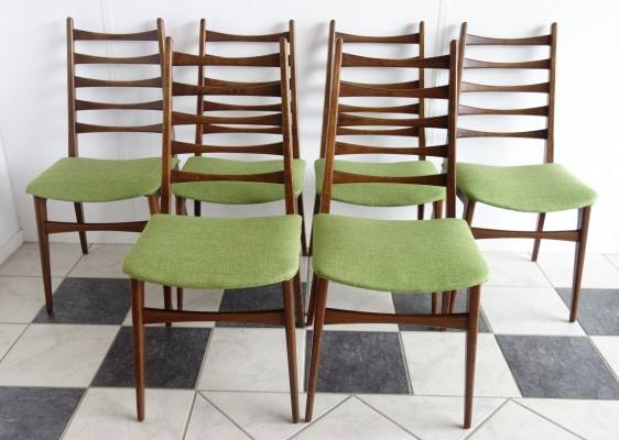 Set of 6 Benze Sitzmöbel dinner chairs, 1960s