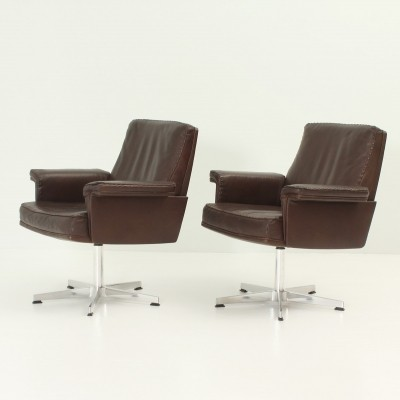 Pair of DS 35 Armchairs by De Sede