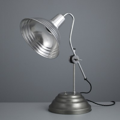 Vintage converted medical table light by Perihel