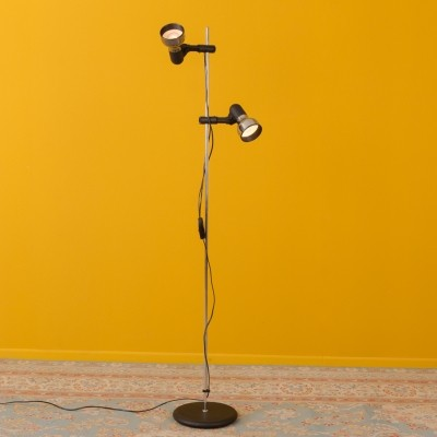 Height-adjustable floor lamp from the 1970s