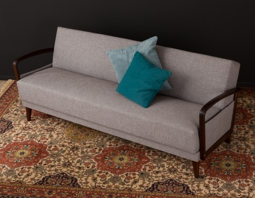 Sofa/daybed in grey, 1950s