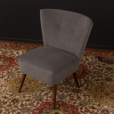Easy chair in grey, 1950s