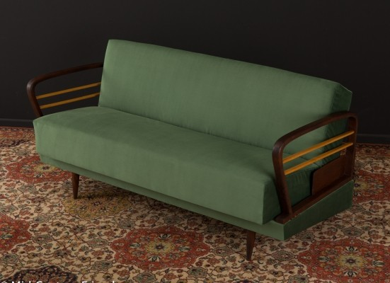 Sofa/daybed in green, 1950s