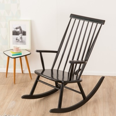 Rocking chair by Asko, 1950s