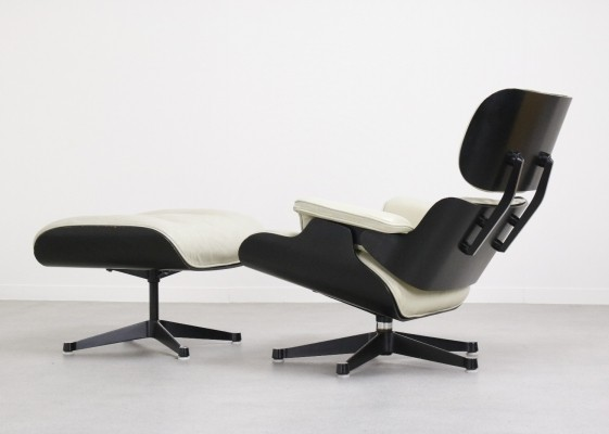 Rare Charles & Ray Eames lounge chair by Fehlbaum, pre Vitra, 1959