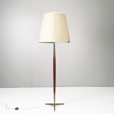 Large modernist floor lamp from the 1950's