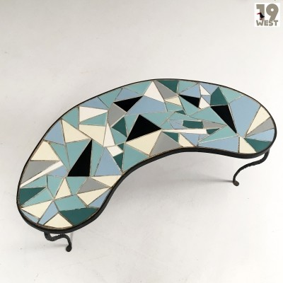 Hand made mosaic coffee table from the 1950's