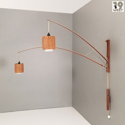 Modernist wall lamp by Rupprecht Skrip