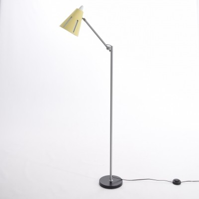 Zonneserie No. 12 floor lamp by H. Busquet for Hala Zeist, 1950s
