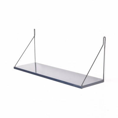 Pilastro Tavola hairpin shelf in Blue