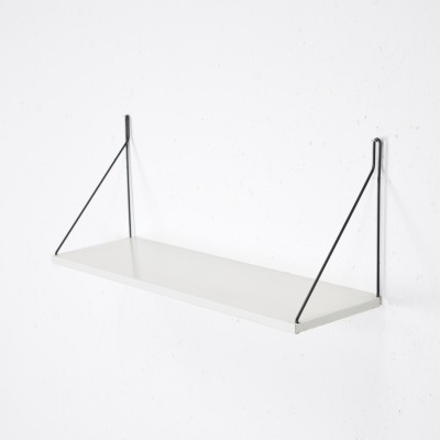 Pilastro Tavola hairpin shelf in White