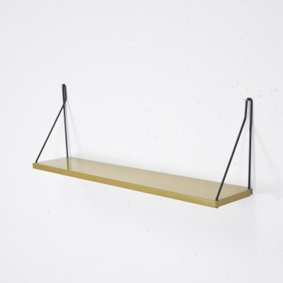 Pilastro Tavola hairpin shelf in Ochre