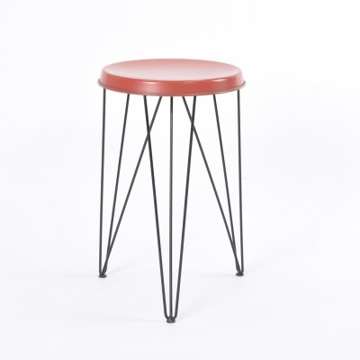 Seggiolina stool by Tjerk Reijenga for Pilastro, 1950s